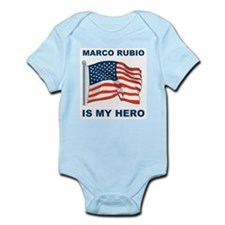 marco rubio is my hero.png Infant Bodysuit