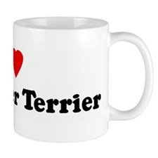 I Love My Border Terrier Mug