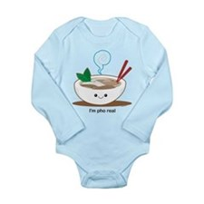Pho noodle soup Long Sleeve Infant Bodysuit