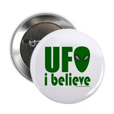 "UFO I BELIEVE 2.25"" Button (10 pack)"