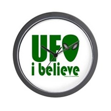 UFO I BELIEVE Wall Clock