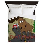 moose fun Queen Duvet