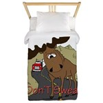 moose fun Twin Duvet