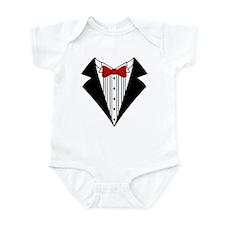 Tuxedo Infant Bodysuit