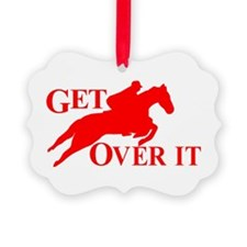 GET OVER IT Ornament