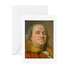 Founding Father: Benjamin Franklin Greeting Card