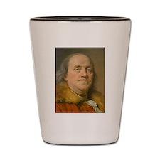 Founding Father: Benjamin Franklin Shot Glass