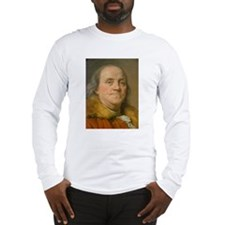 Founding Father: Benjamin Franklin Long Sleeve T-S