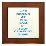 Comfort Zone Framed Tile