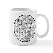 English Peasant Protest Button Mug