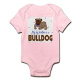 Funny First family dog Infant Bodysuit