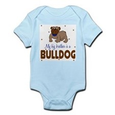 Funny Bulldog baby Infant Bodysuit