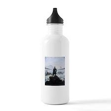 Caspar David Friedrich Wanderer Water Bottle