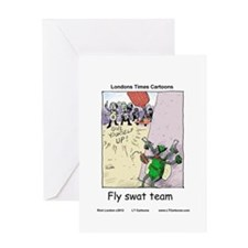 Fly S.W.A.T Team Greeting Card
