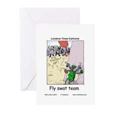 Fly S.W.A.T Team Greeting Cards (Pk of 10)