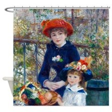 Pierre-Auguste Renoir Two Sisters Shower Curtain