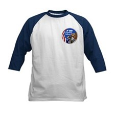 F-16 Falcon Kid's Baseball Jersey