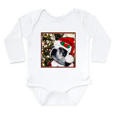 Christmas Boston Terrier Onesie Romper Suit