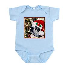Christmas Boston Terrier Infant Bodysuit