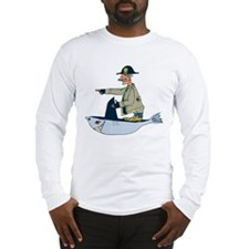 Shark Pirate Long Sleeve T-Shirt