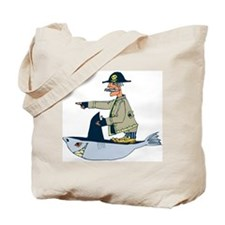 Shark Pirate Tote Bag