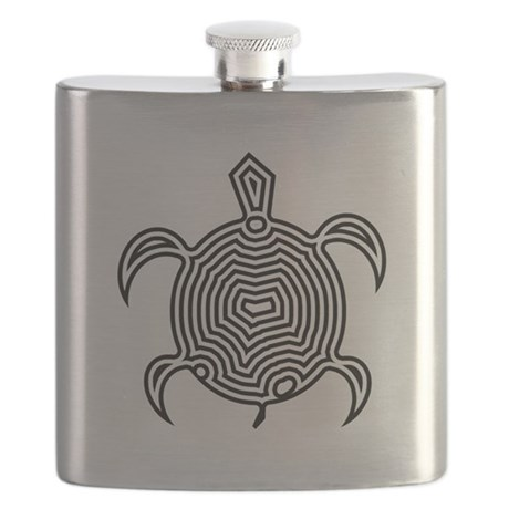Labyrinth Turtle Flask