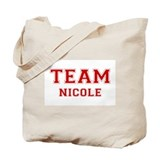Team Nicole Tote Bag
