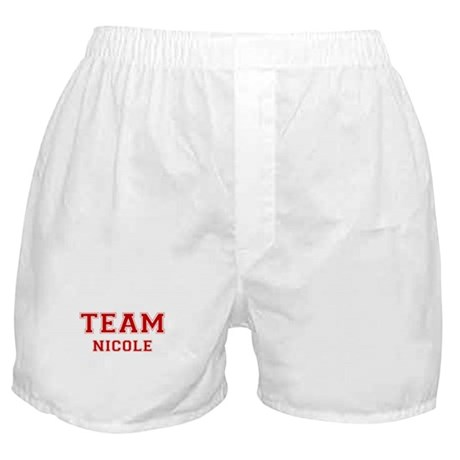 Team Nicole Boxer Shorts