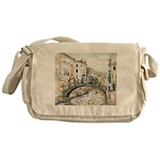 Maurice Prendergast Little Bridge Messenger Bag