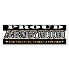 Proud Army Mom Bumper Sticker