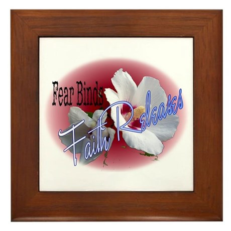 Faith Releases Framed Tile