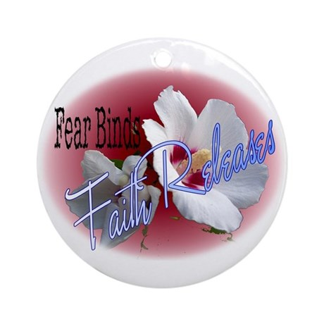 Faith Releases Ornament (Round)