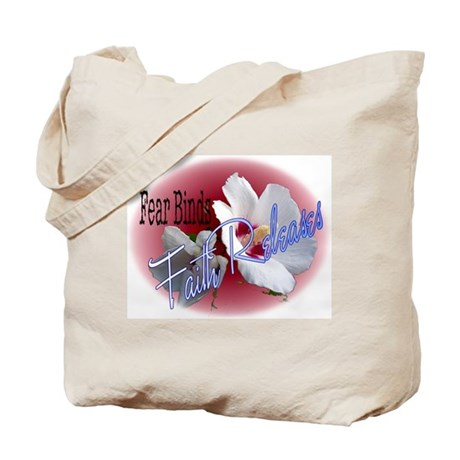 Faith Releases Tote Bag