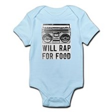 Cute Rap Infant Bodysuit