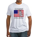American Bull Rider Fitted T-Shirt
