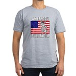 American Bull Rider Men's Fitted T-Shirt (dark)