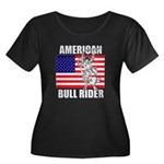 American Bull Rider Women's Plus Size Scoop Neck D
