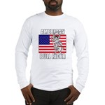 American Bull Rider Long Sleeve T-Shirt