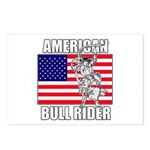American Bull Rider Postcards (Package of 8)