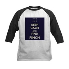 Keep Calm and Find Finch (blue background) Tee