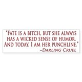 Darling Bumper Sticker