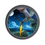 Dragon Spit Wall Clock