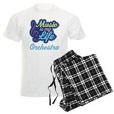 Orchestra Music Quote Men's Light Pajamas