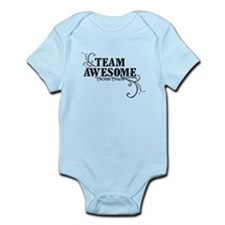 Team Awesome Logo Infant Bodysuit