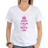 Keep calm and rock on Shirt