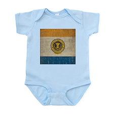 Vintage San Jose Flag Infant Bodysuit