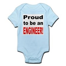 Proud Engineer Infant Creeper