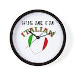 I'm Italian Wall Clock