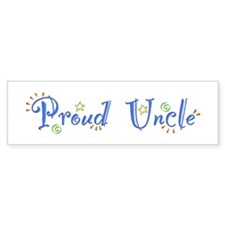 Proud Uncle Bumper Bumper Sticker