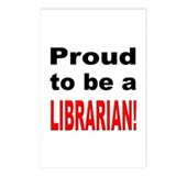 Proud Librarian Postcards (Package of 8)